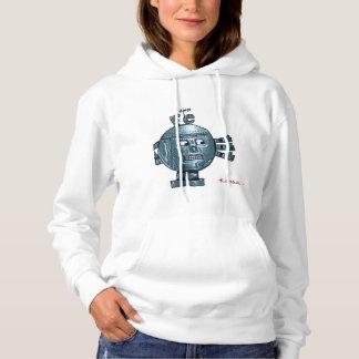 Sweatshirt with cartoon Fe iron atom