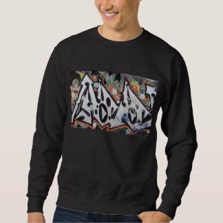 Sweatshirt with contrast graffiti design