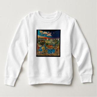 sweatshirt with land of hope design