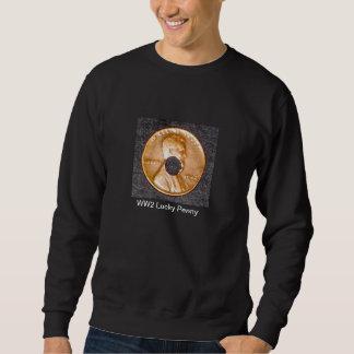 Sweatshirt/WW2 Lucky Penny, 2-sided Pull Over Sweatshirt