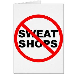 SWEATSHOPS emblem Clothing Accessories Home Card