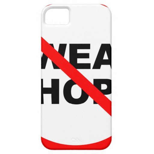 SWEATSHOPS emblem Clothing Accessories Home iPhone 5 Cover