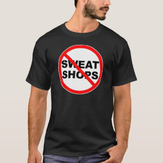 SWEATSHOPS emblem Clothing Accessories Home T-Shirt