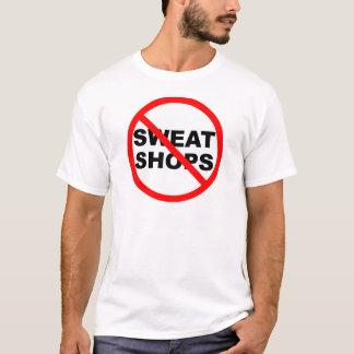 SWEATSHOPS emblem Clothing Accessories Home T-Shirt
