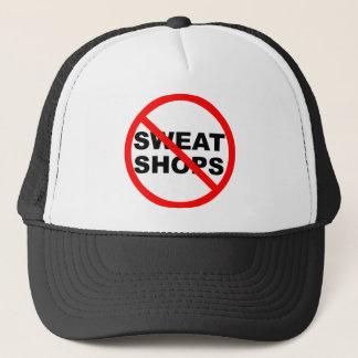 SWEATSHOPS emblem Clothing Accessories Home Trucker Hat
