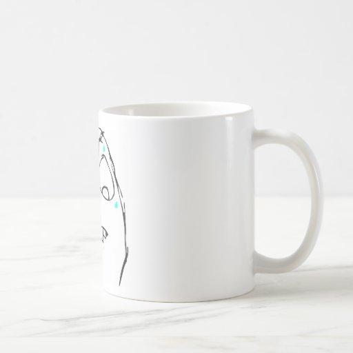 Sweaty Rage Face Coffee Mug