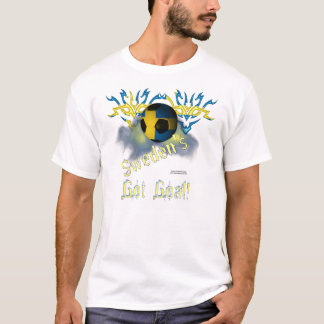 Swede Football Goal Men's Tee