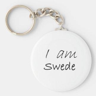 Swede.jpg Keychain