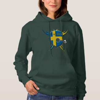 Swede Soccer Breakthrough Ladies Hoodie