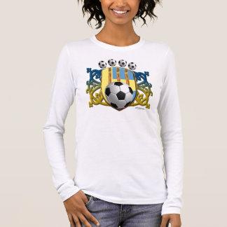 Swede Soccer Power Ladies Long Sleeve Shirt