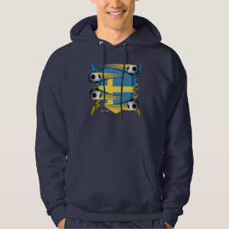 Swede Tribal Shield Men's Hoodie