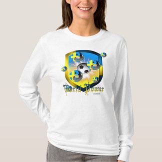 Swede World Power Ladies Long Sleeve Shirt