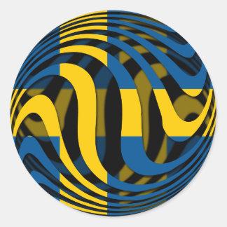 Sweden #1 classic round sticker