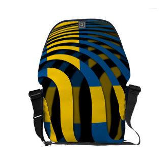 Sweden #1 small messenger bag