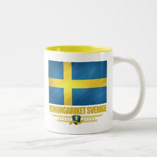 Sweden 2 Two-Tone coffee mug
