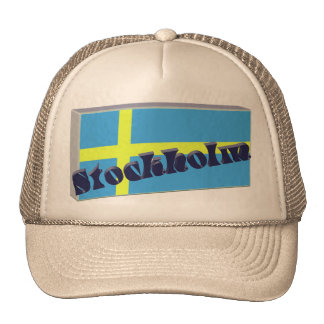 Sweden 3D+H Trucker Hat