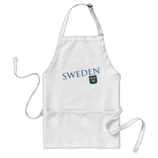 Sweden and Crest Adult Apron
