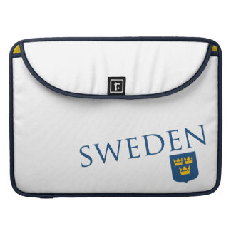 Sweden and Crest Sleeves For MacBook Pro