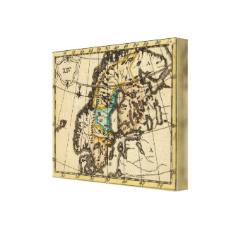 Sweden and Finland Canvas Print