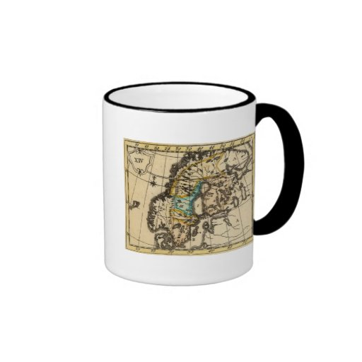Sweden and Finland Ringer Coffee Mug