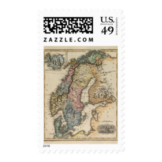 Sweden and Norway 3 Postage Stamp