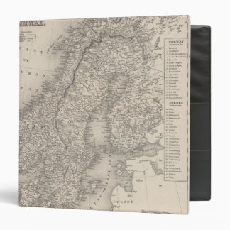 Sweden and Norway 4 3 Ring Binder