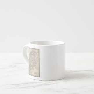 Sweden and Norway 4 Espresso Cup