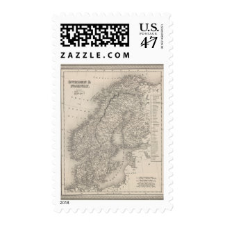 Sweden and Norway 4 Postage
