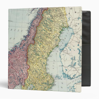Sweden and Norway 5 3 Ring Binder