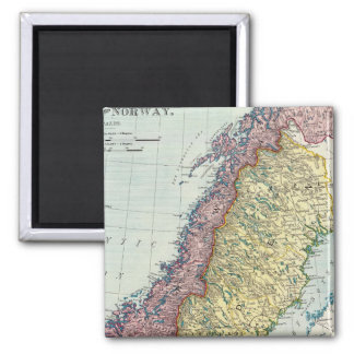 Sweden and Norway 5 Magnet
