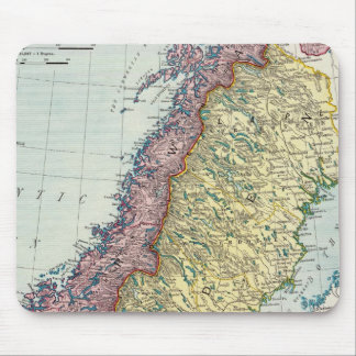 Sweden and Norway 5 Mouse Pad