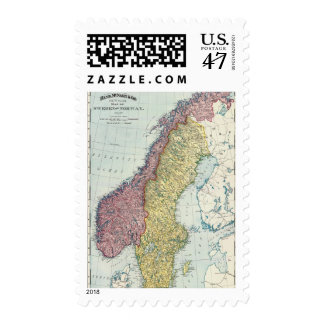 Sweden and Norway 5 Postage Stamp