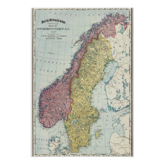 Sweden and Norway 5 Poster