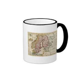 Sweden and Norway 6 Ringer Coffee Mug