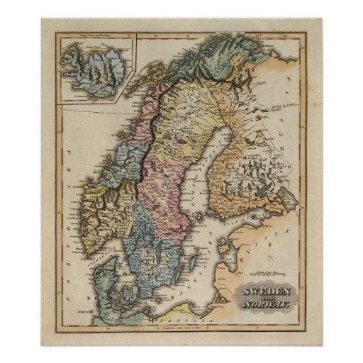 Sweden and Norway 6 Poster