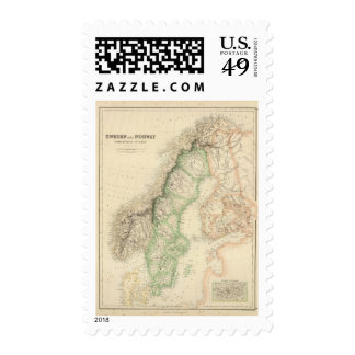 Sweden and Norway 7 Postage