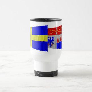 Sweden and Örebro län waving flags Coffee Mug