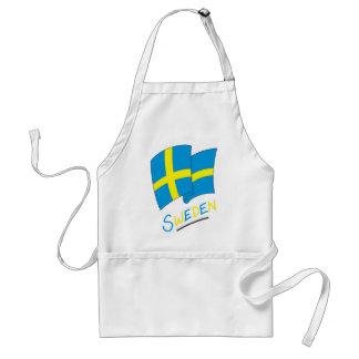 Sweden Adult Apron