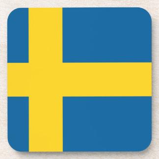sweden beverage coaster