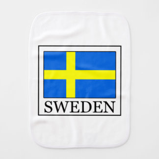 Sweden Burp Cloth