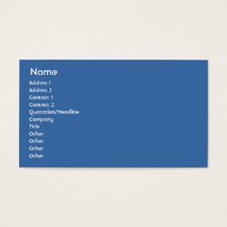 Sweden - Business Business Card