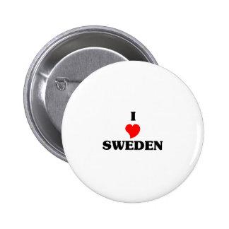SWEDEN PINBACK BUTTONS