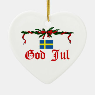 Sweden Christmas Christmas Tree Ornament