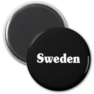 Sweden Classic Style 2 Inch Round Magnet