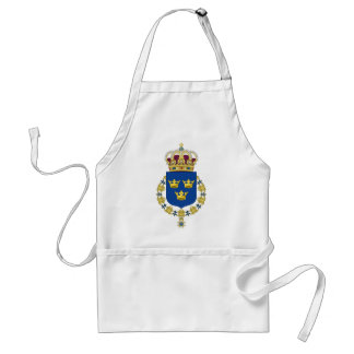 Sweden Coat of Arms Apron