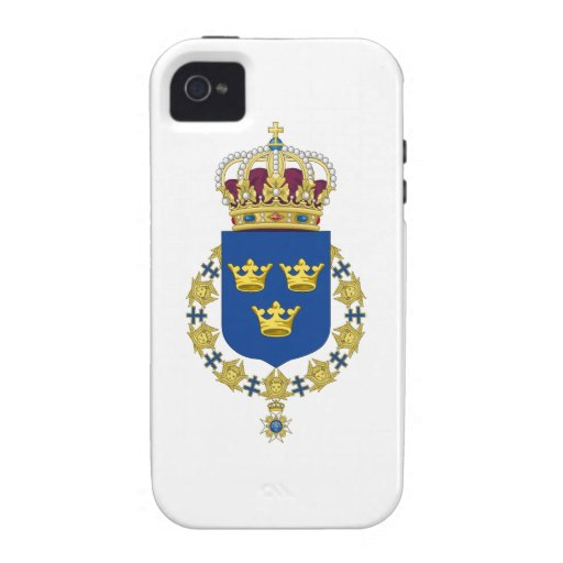 Sweden Coat of Arms Case-Mate iPhone 4 Cases