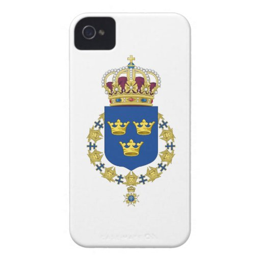 Sweden Coat of Arms iPhone 4 Cases