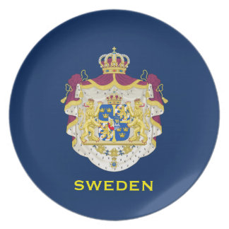 Sweden - Coat of Arms Decorative Plate
