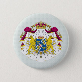 Sweden Coat of Arms detail Pinback Button