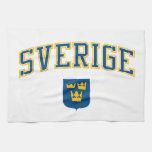 Sweden + Coat of Arms Kitchen Towel